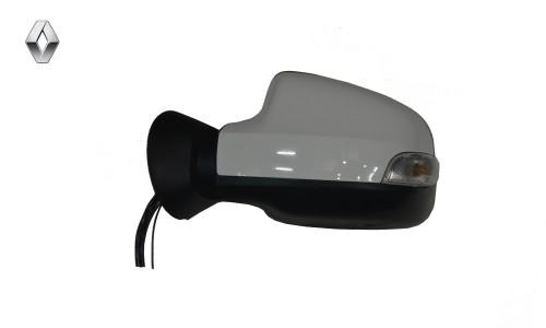 آینه بغل برقی با قاب رنگی سفید راهنمادار چپ رنو تندر پلاس