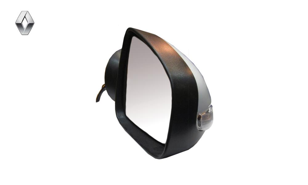 آینه بغل برقی با قاب رنگی سفید راهنمادار راست رنو ساندرو