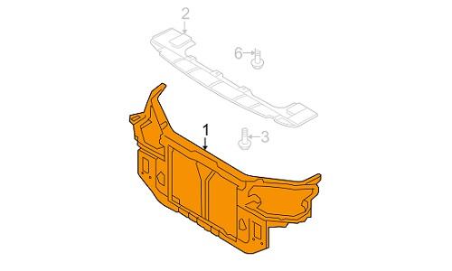 سینی رادیاتور هیوندای MOBIS - I30