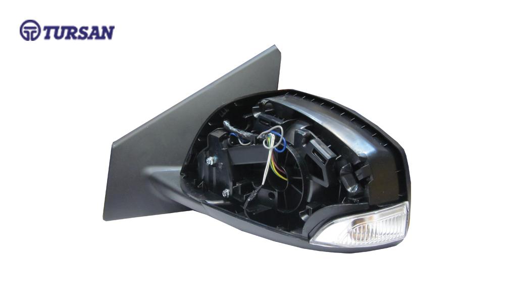 آینه بغل برقی تاشو اتوماتیک چپ رنو فلوئنس - TURSAN