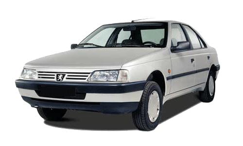سرپلوس (22خار) ABS خارتو پژو 405 - silver