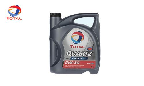 روغن موتور Quartz 4X4 15W-50 Total