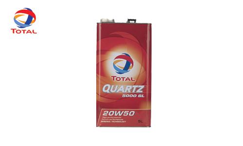 روغن موتور 20W-50 Quartz 5000 SL Total