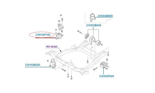 دسته موتور هیدرولیکی راست كيا سورنتو - GENUINE