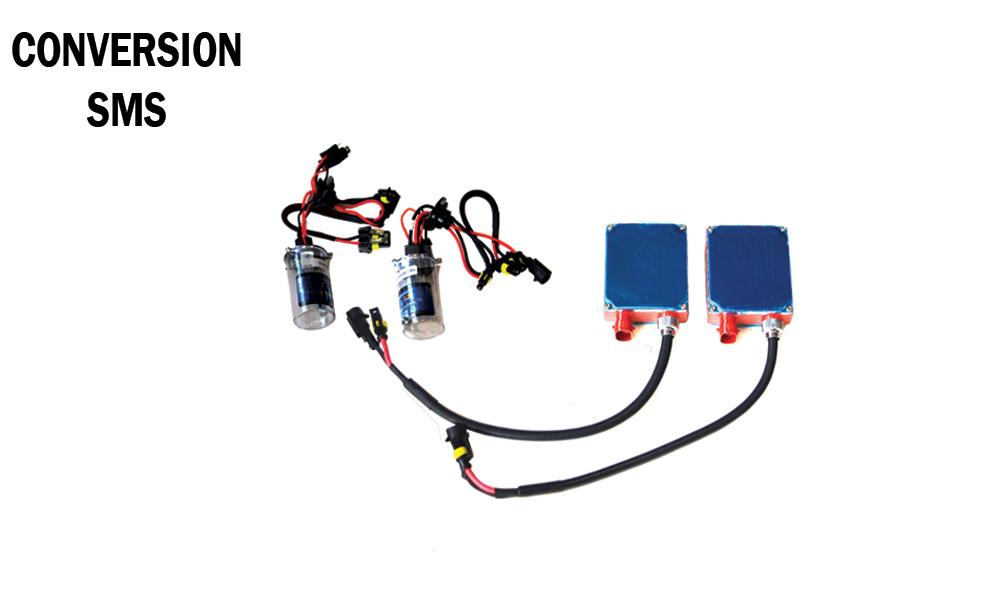 لامپ زنون همراه با ترانس - SMS