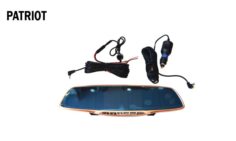 آینه دوربین دار دو طرفه خودرو - PATROIT