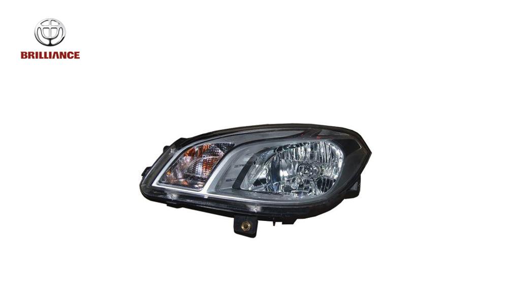 چراغ جلو چپ برلیانس H320 - اصلی